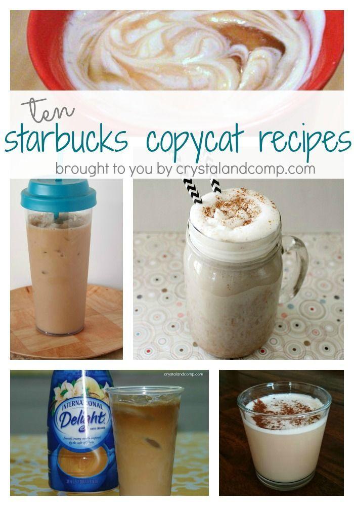 10 Starbucks Copycat Recipes