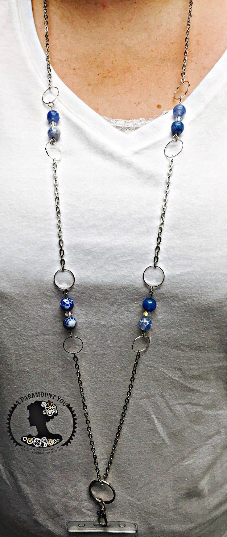 A personal favorite from my Etsy shop https://www.etsy.com/listing/541658593/glass-beaded-fashion-lanyard-necklace-id