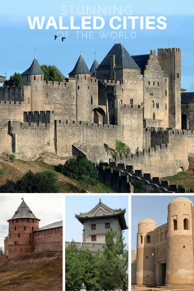 15 Stunning Walled Cities of the World