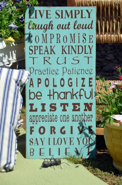 Great family rules to live by