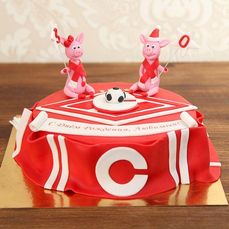 Мужской торт не обязательно должен быть строгим и лаконичным. Выберите яркий, несерьезный, игривый и молодежный торт для вашего мужчины и он обязательно вызовет улыбку на лице   С радостью изготовим торт для вашего праздника от 2-х кг всего 2150₽/к  Изготовление #ФигуркиНаТорт первой свинки входит в стоимость торта. Каждая последующая #ФигуркаИзМастики свинки 1000 руб.   Расскажите нам о Вашей идее, задумке или тематике праздника по телефону/WhatsApp/Viber +7(495)565-3838, или выберите…