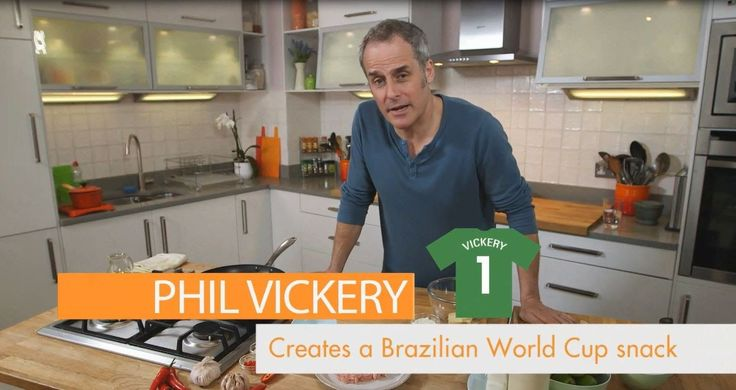 Looking for that perfect snack for this year's Brazilian World Cup? Well look no further as celeb chef Phil Vickery shows you a delicious snack all the way from South America.  FOR MORE INFORMATION VISIT Website: www.britishturkey.... #PhilVickery #chef #videos #cooking #recipes #home #celebrities#worldcup #2014 #Brazil #pastry #yourhomemagazine #noodle #salad