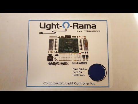 Light O Rama Christmas light controller DIY kit bu - YouTube