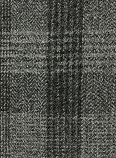 Harris Tweed Hebrides Cloth : BA47-D2 cloth is a grey and ...