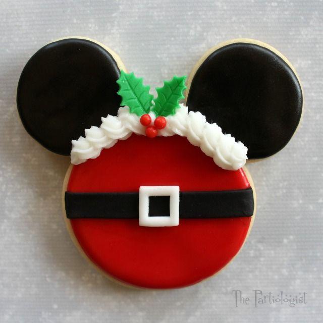 Disney temáticas Galletas de Navidad!                                                                                                                                                      Más