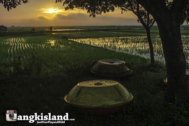 JustFun,Play,andKidd: Kampung Rawa Pening, Menikmati Sunrise Galau di Te...