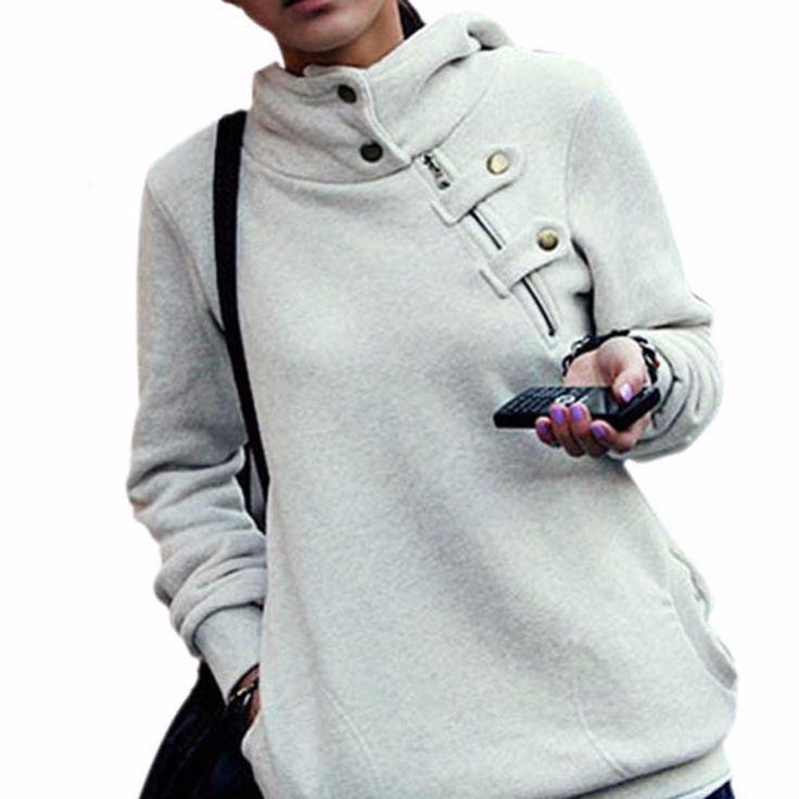 Women New Retail Korean Long Sleeve Sweatershirt Hoodies Pullovers Casual Coat Blouse Tops Jacket Plus Size