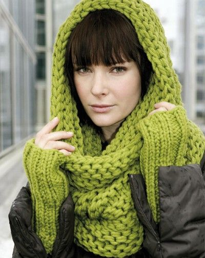 modele tricot a capuche