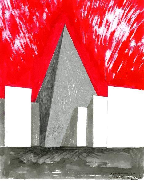 Daniel Libeskind Sketches