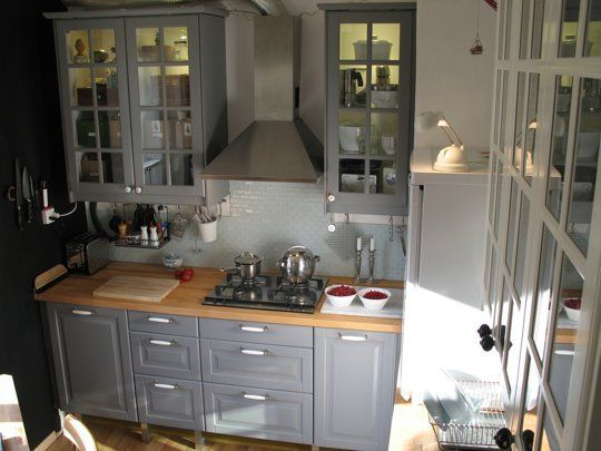 Small Cool Kitchens 2013 | International Winner - Ulrike's Study in Contrasts Kitchen