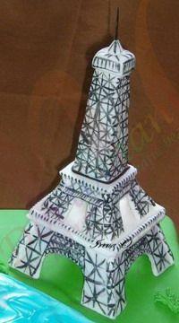 Здания, дома, замки, башни, маяки, вышки - Мастер-классы по украшению тортов Cake Decorating Tutorials (How To's) Tortas Paso a Paso