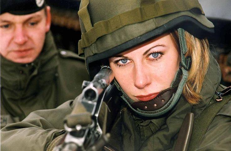 Austrian Female Soldier