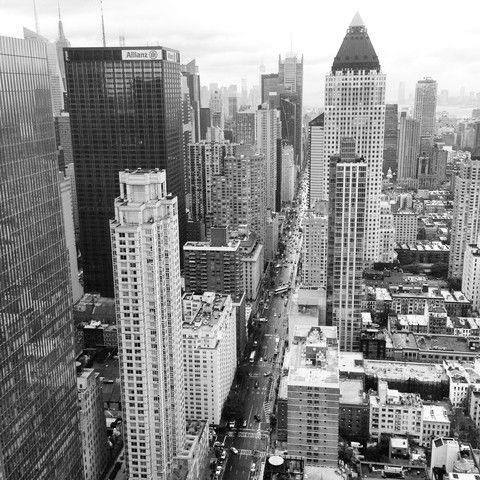 vista de edificios new york