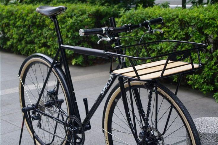 Custom Surly Straggler with front rack via VS-Ticket