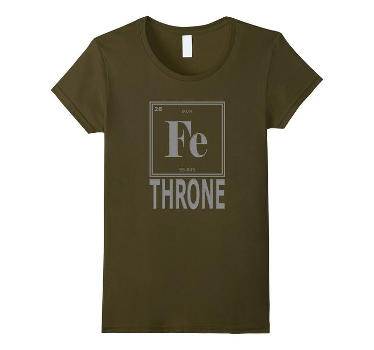 #GOT Fans #GameOfThrones Fe Iron Throne Periodic Table #tshirts of #geek Elements #tshirt   http://amzn.to/2aYACK6