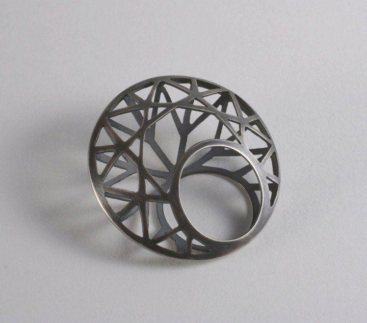 Epic KATHLEEN REARICK KATIE USA Diamond Ring from Gnaw Series x