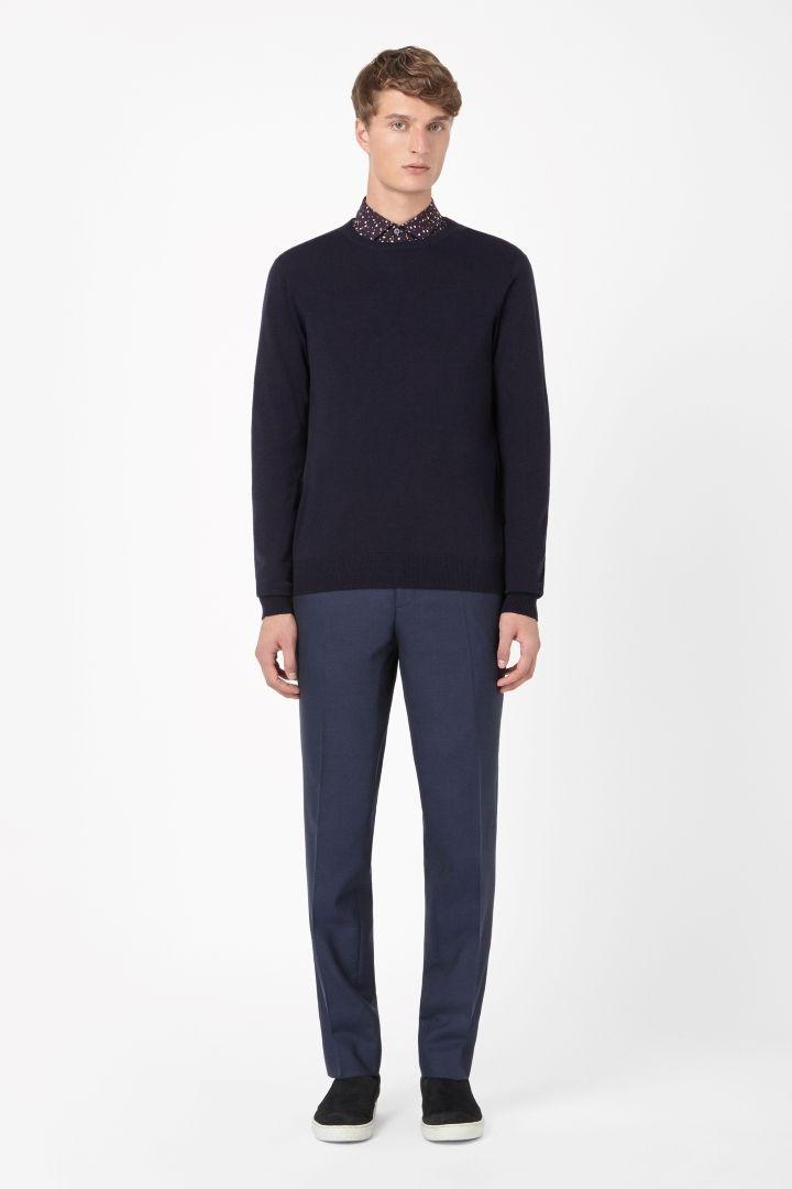 COS | Round-neck merino jumper