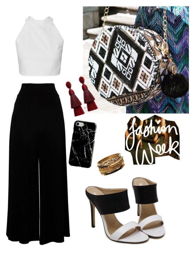 """""""Excelente outfit"""" by stluccamexico on Polyvore featuring moda, Recover, Oscar de la Renta y Amrita Singh"""