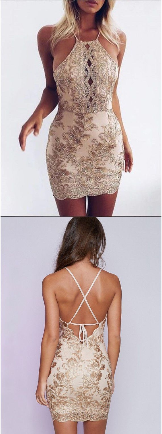 short cocktail dresses,sexy cocktail dresses,backless homecoming dresses,short homecoming dresses @SevenProm