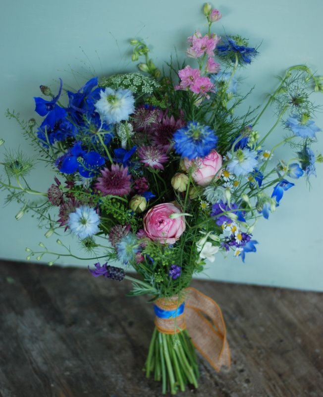Country styled wedding bouquet