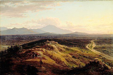 Les Diggings or à Ararat de Eugene Von Guerard (1811-1901, Austria)