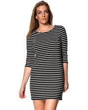 Vila klänning Model: 14016519 TINNY DRESS Kvaliteten är 70% polyester, 27% viskos och 3% elastan
