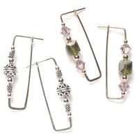 Wirework: Right-angle earrings