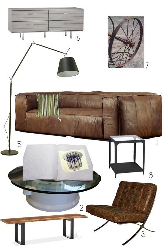 1000 ideas about industrial living rooms on pinterest for Warm industrial decor