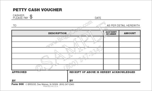 Petty Cash Voucher Yahoo Image Search Results Voucher Letter