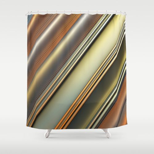 Be 3D Shower Curtain
