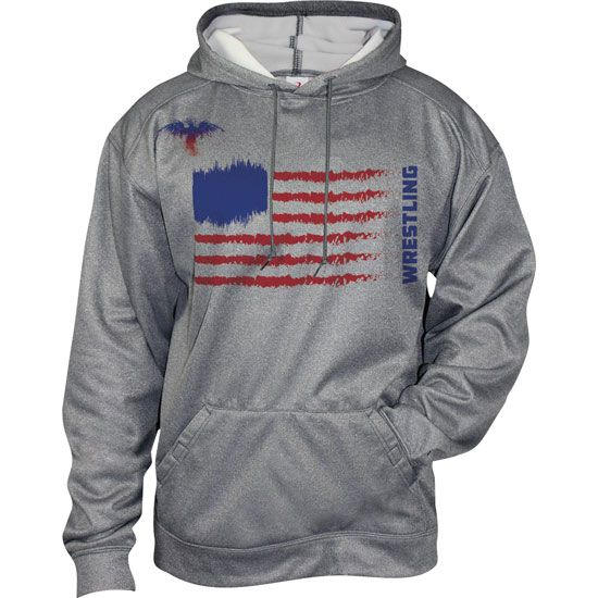 Worldwide Sport Supply USA Sublimated Tech Wrestling Hoody