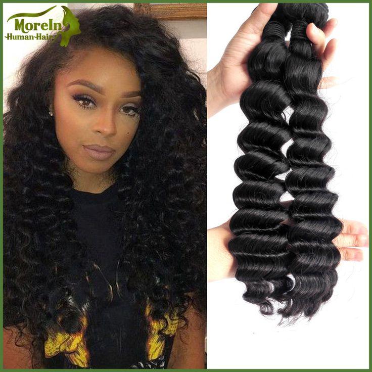 7 Best Peruvian Human Hair Loose Deep Natural Hair Big Wave