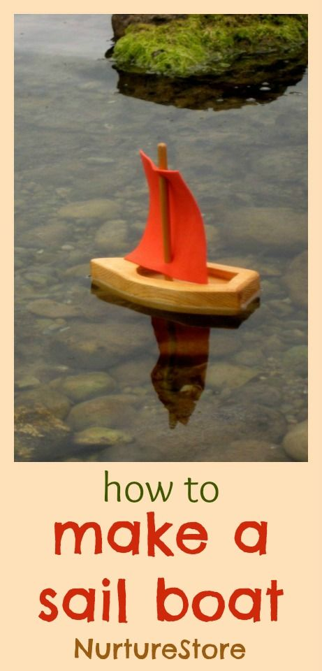 Simple summer fun. How to make a sail boat - three great ways! #BHGSummer