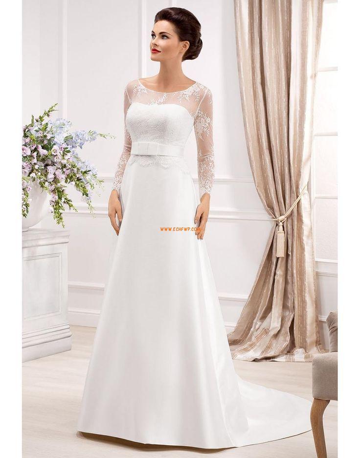 Lodičkový výstřih Krajka Zip Svatební šaty 2014