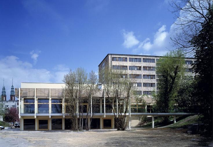 Rozbudowa urzędu marszałkowskiego (dawniej rejencji) z poszanowaniem oryginalnej architektury