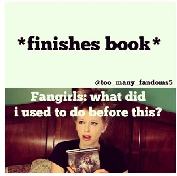 Lol true this is what I'm feeling since I just finished the gone series and I don't know what to do with my life