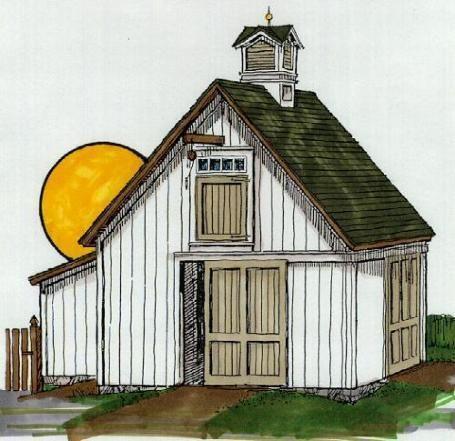 Small Barn Plans | Building My Small Barn | ThinMan's Blog