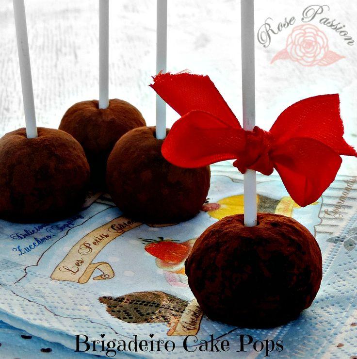 Brigadeiro Cake Pops ... Deliziosi Lollipops!