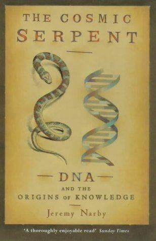Cosmic Serpent: DNA and the Origins of Knowledge by Jeremy Narby http://www.amazon.co.uk/dp/075380851X/ref=cm_sw_r_pi_dp_7DIHub1V2DQRB