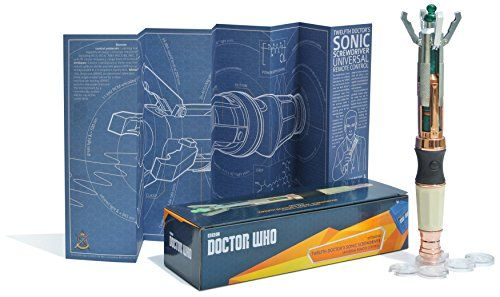 The Wand Company WRC11015 Twelfth Doctor's Sonic Screwdriver Universal Remote Control The Wand Company http://www.amazon.com/dp/B00Y0Q9LFA/ref=cm_sw_r_pi_dp_LV-Owb1KYY4KF