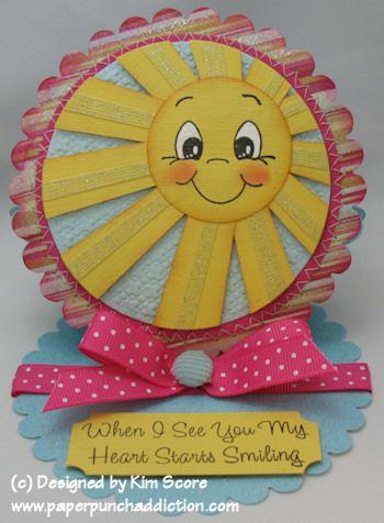 Punch Art Sunshine Card