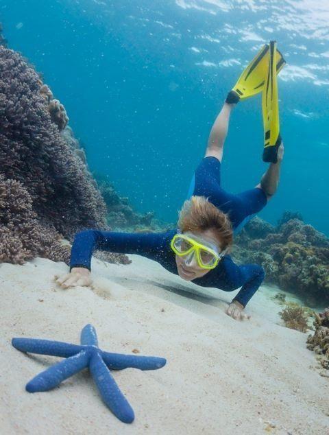 Buceo con snorkel
