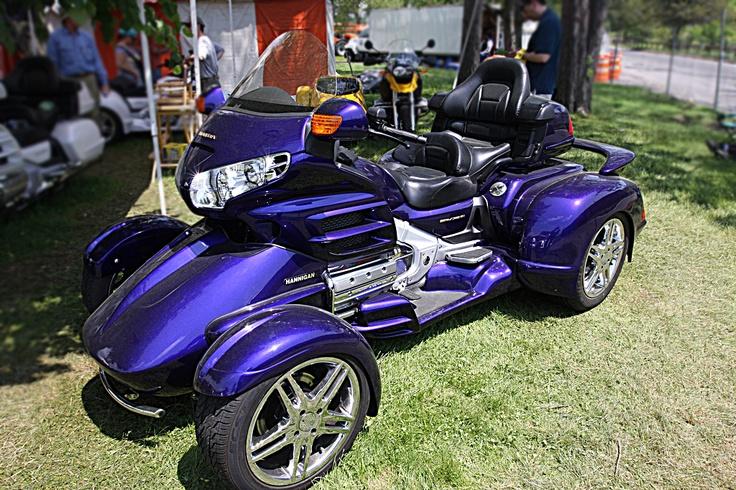 put  couple extra wheels   honda goldwing     comfortable quad  favorite