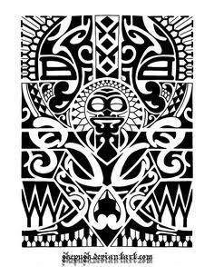Extremamente 3678 best Polynesian tattoos images on Pinterest   Maori tattoos  FI95