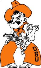 Pistol Pete...the best mascot ever!  Go Pokes!