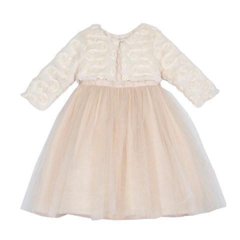 Victoria Gold Jacket Dress