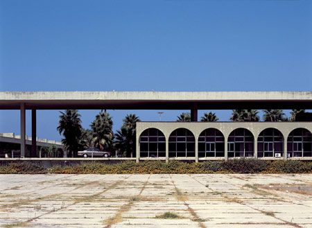 International Fair of Tripoli, Lebanon, by Brazilian architect Oscar Niemeyer.