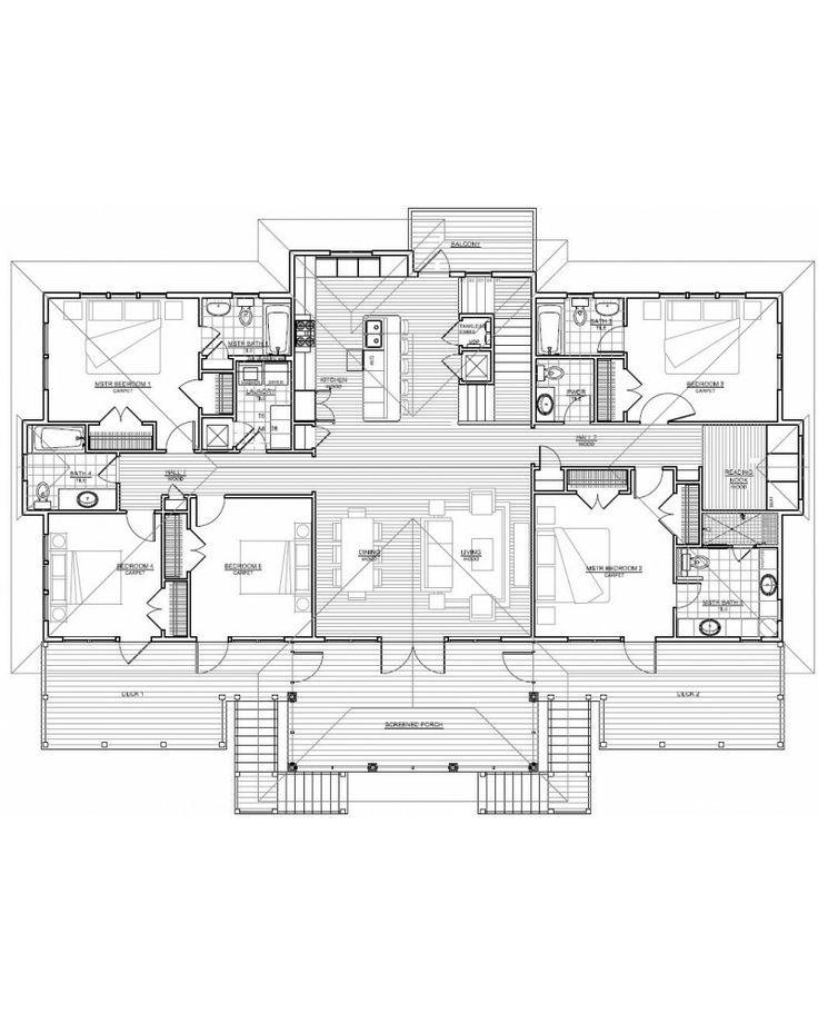 17 best ideas about 6 bedroom house plans on pinterest for House on stilts floor plans