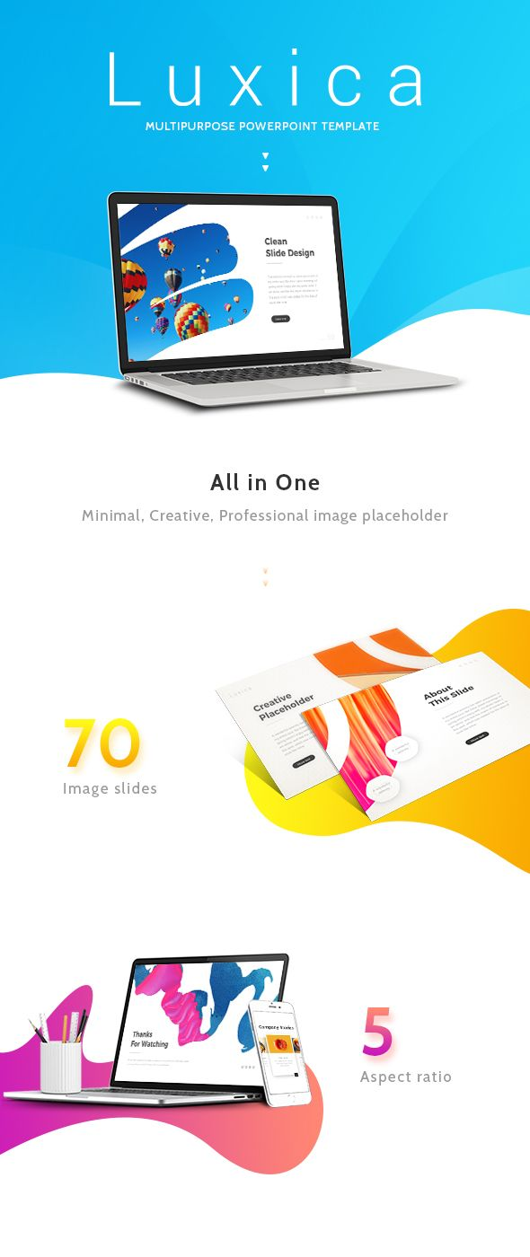 luxica presentation template powerpoint pptx stats powerpoint