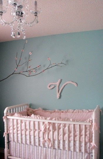 #baby #nursery ideas via @chicposh